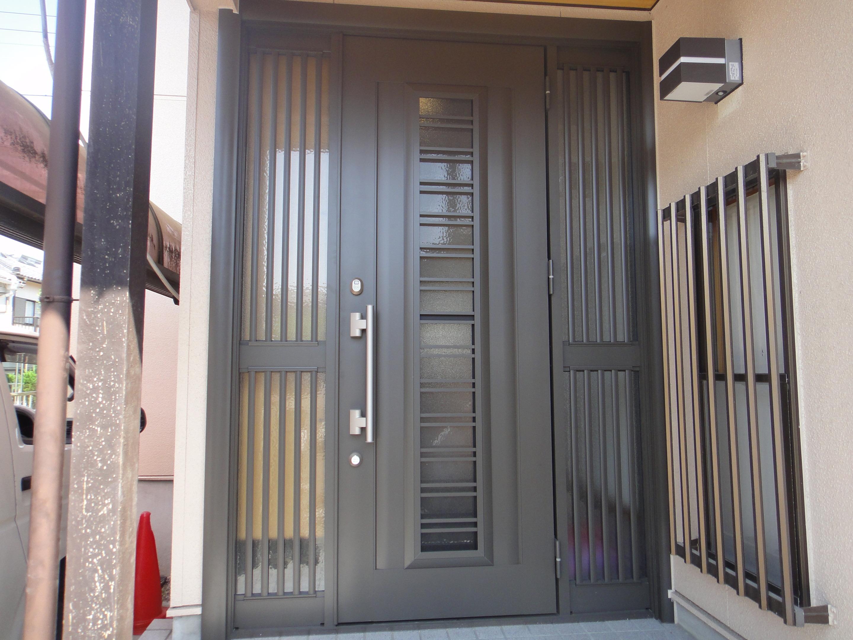 戸建てリフォーム玄関